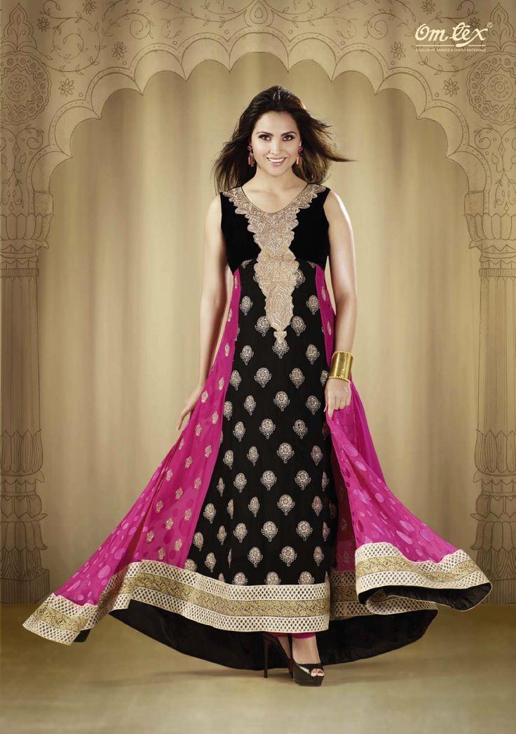 Punjabi pink salwar suit - 5 5