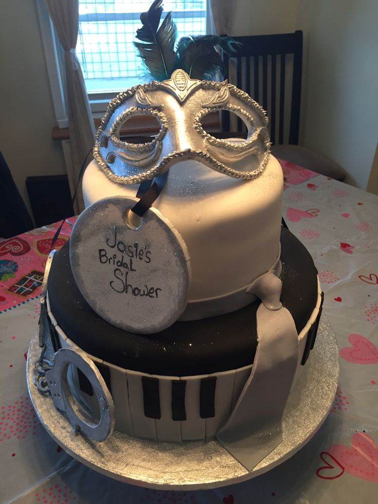 64 Best Images About Fifty Shades Of Grey Cakes On