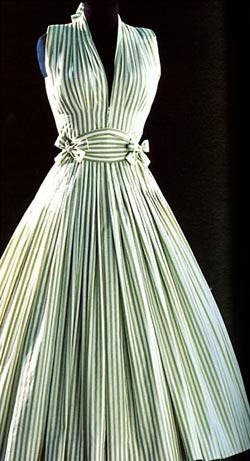 """ephemeral-elegance: """" """"Ma Griffe"""" Dress, late 1940s-early 1950s Madame Carven """""""