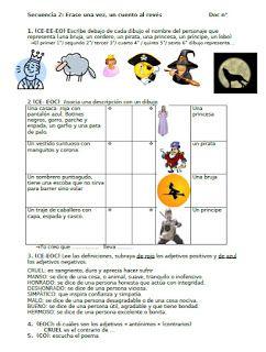 """CLE.EN.MAIN Dossier d'exploitation """"érase una vez"""" par Camille via Les Quichotteries"""