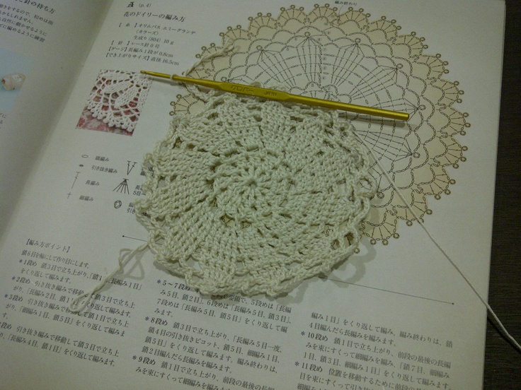 Doily lace, 2nd trial.