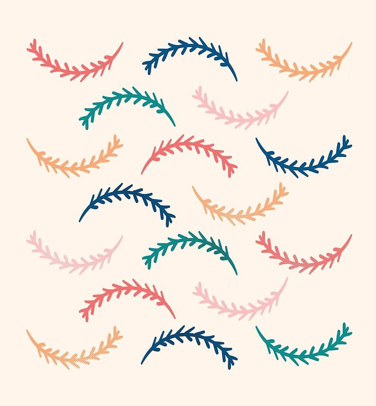 Graceful fall  by JosiePrints ™ @oozefina #pattern #print #pastel #delicate #cute #harmony #fall #autumn