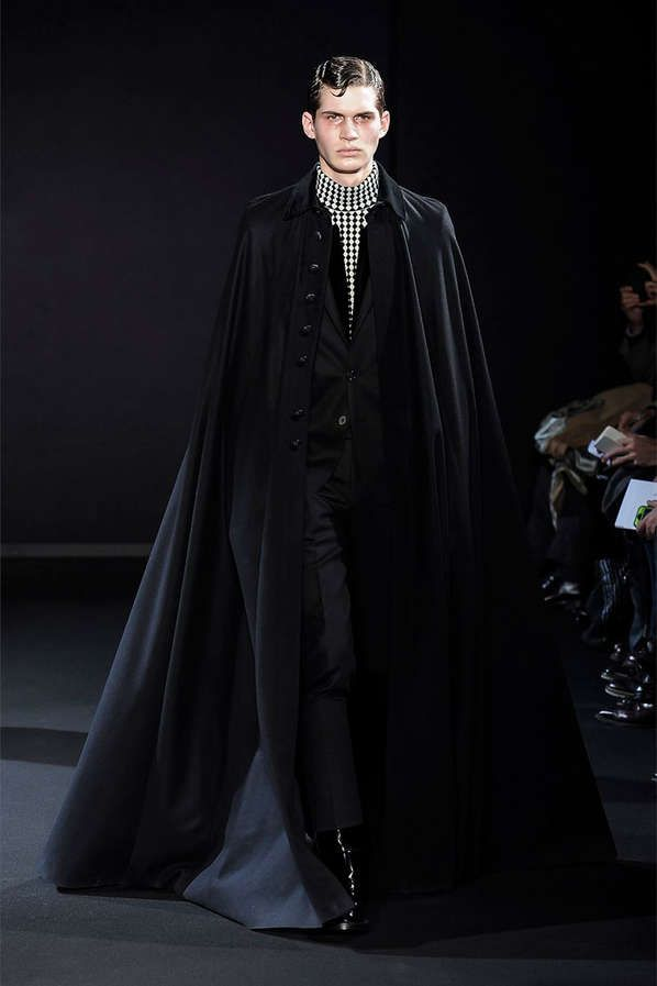 Dapper Vampire Couture - The Les Hommes Fall/Winter 2013 Collection is Darkly Elegant (GALLERY)