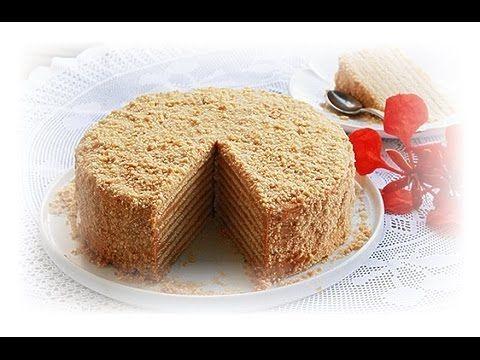 Homemade Recipe - The Best Honey 9-Layer Cake
