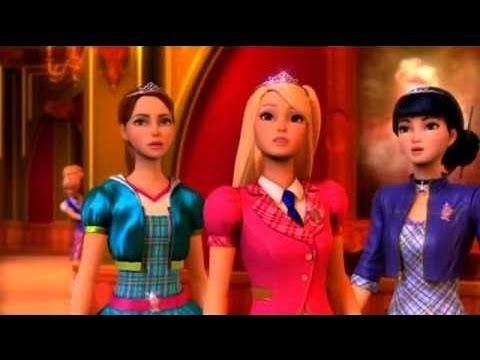 Barbie Escuela De Princesas 2014 ღ✰ Pelicula Barbie Princesa en Español Latino✔ - YouTube