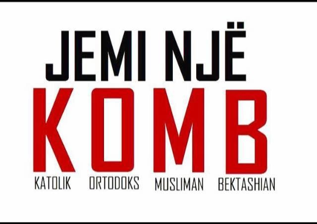 In Albanian the world Nation is ''Komb''