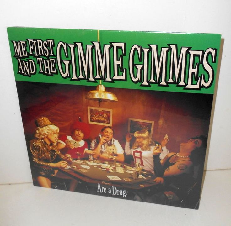 ME FIRST and The GIMME GIMMES are a drag Lp Record SEALED , vinyl , punk , nofx #punkPunkNewWave