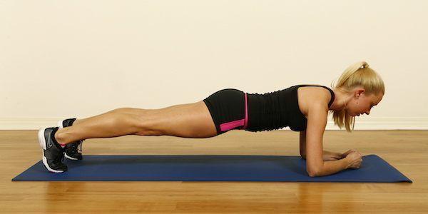 Voici comment faire l'exercice de la planche.