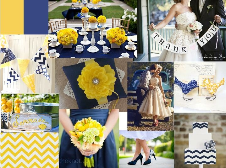 26 best images about navy yellow wedding on pinterest