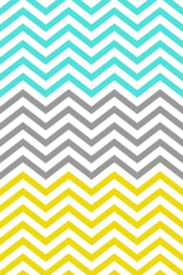 mint gray and yellow chevron wallpaper my room