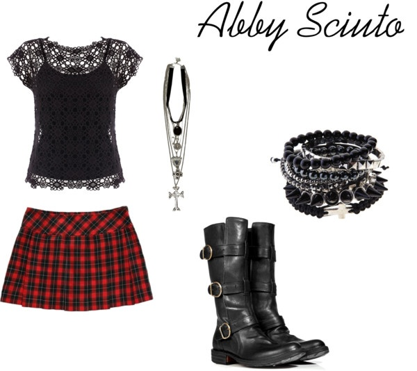 """Abby Sciuto NCIS"" by abotello on Polyvore - planning for Halloween"