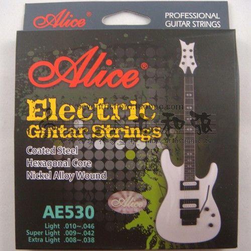 E-009, B-011, G-016, D-024, A-032, E-42 AE530-SL electric guitar strings/violin strings/set strings/exquisite 009