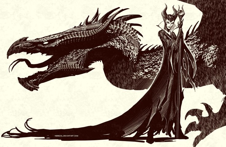 maleficent..yeah cuz i heard of the movie by nebezial.deviantart.com on @deviantART