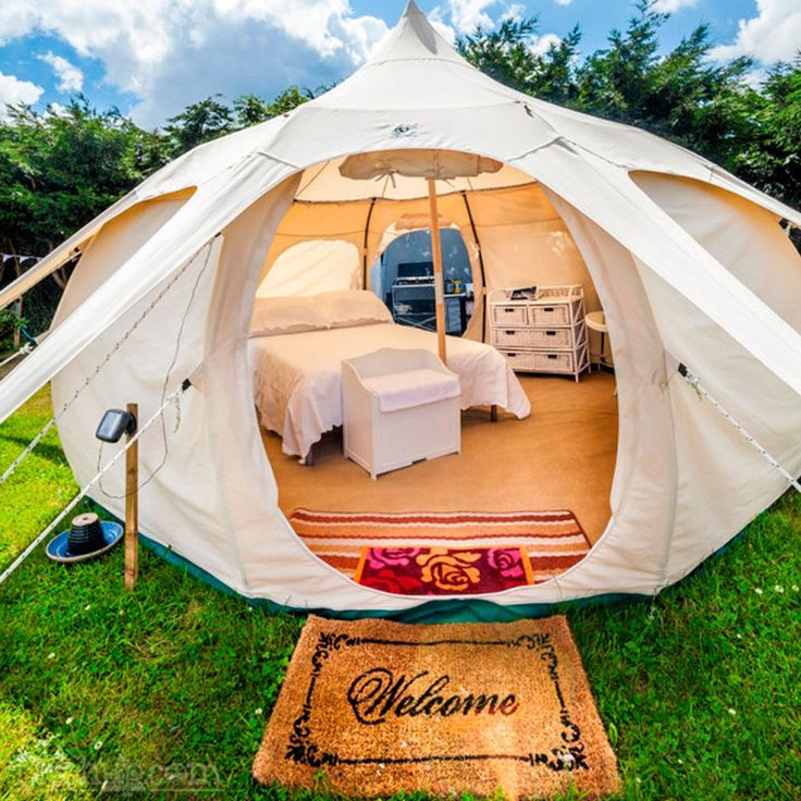 16ft Lotus Belle Tent - $2100 fancy.com