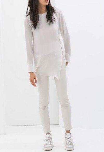 Must-have voor deze zomer: een witte skinny jeans
