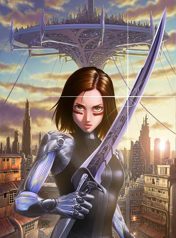 Battle Angel Alita Manga Poster