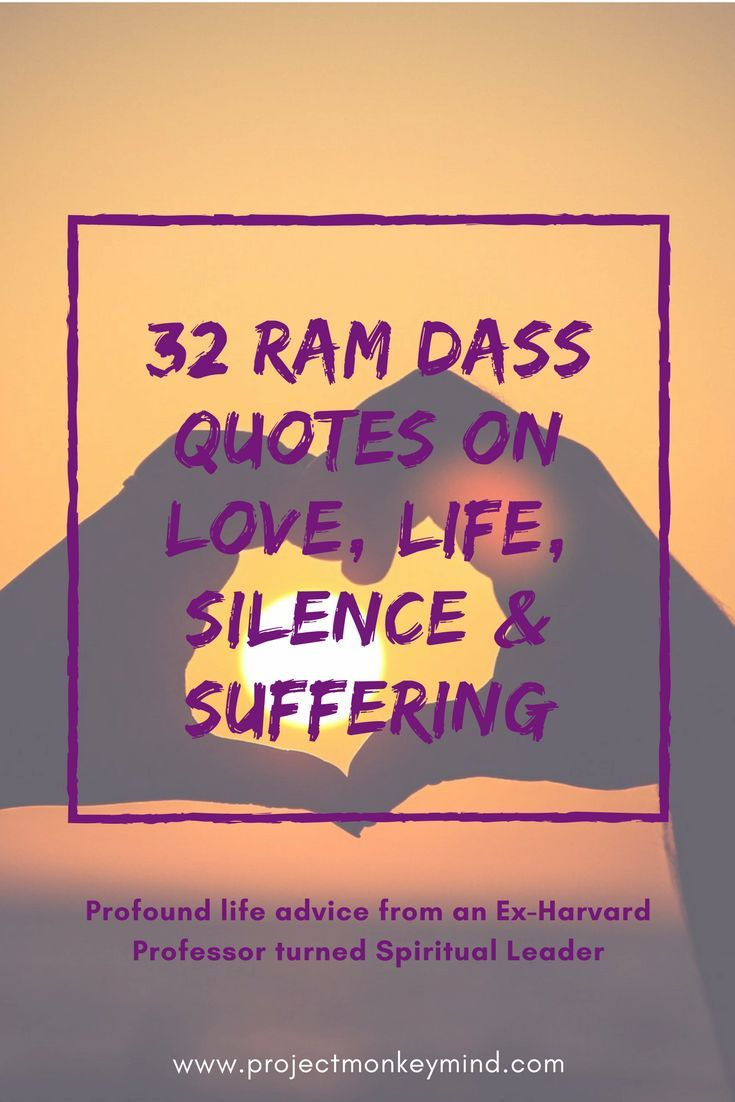 Explore life lessons of love, silence & suffering from Baba Ram Dass. As an ex-Harvard Psychology Professor (and near-fatal stroke survivor), he has a unique take on the application of Spirituality to modern Western life.