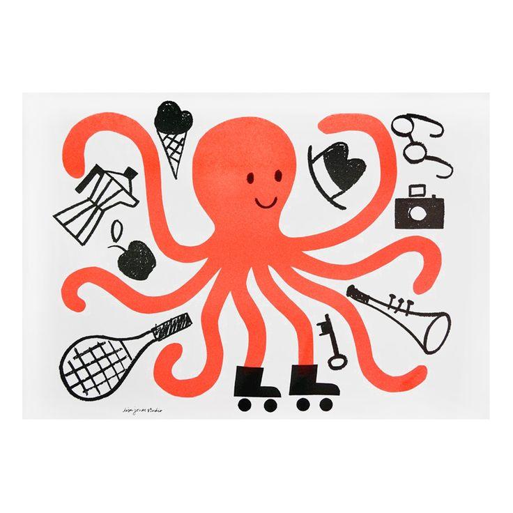 Octopus Print @ Howkapow