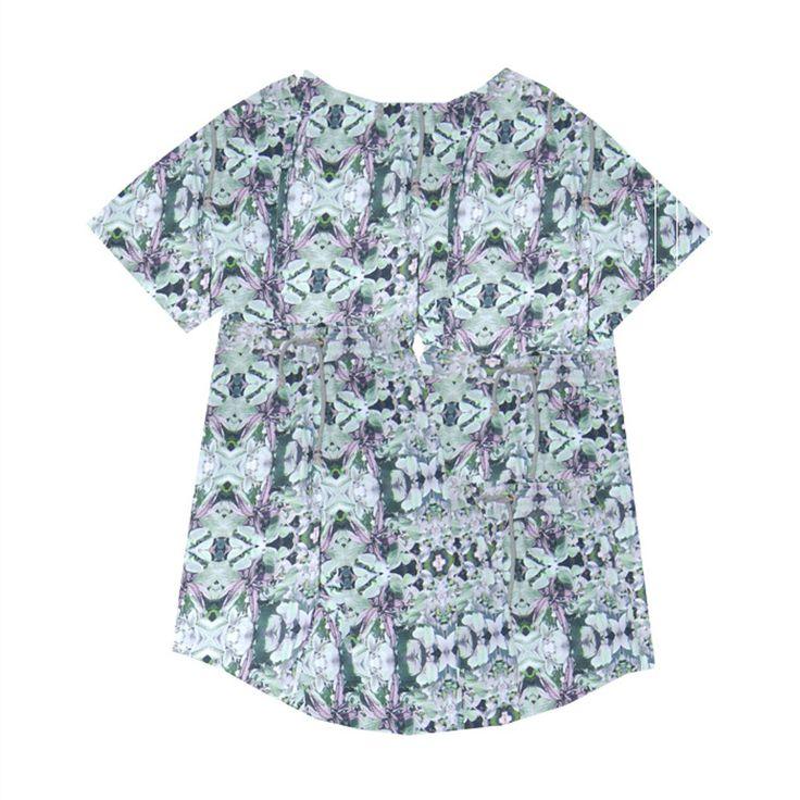 T Shirt Leaf Mint – The Child Hood