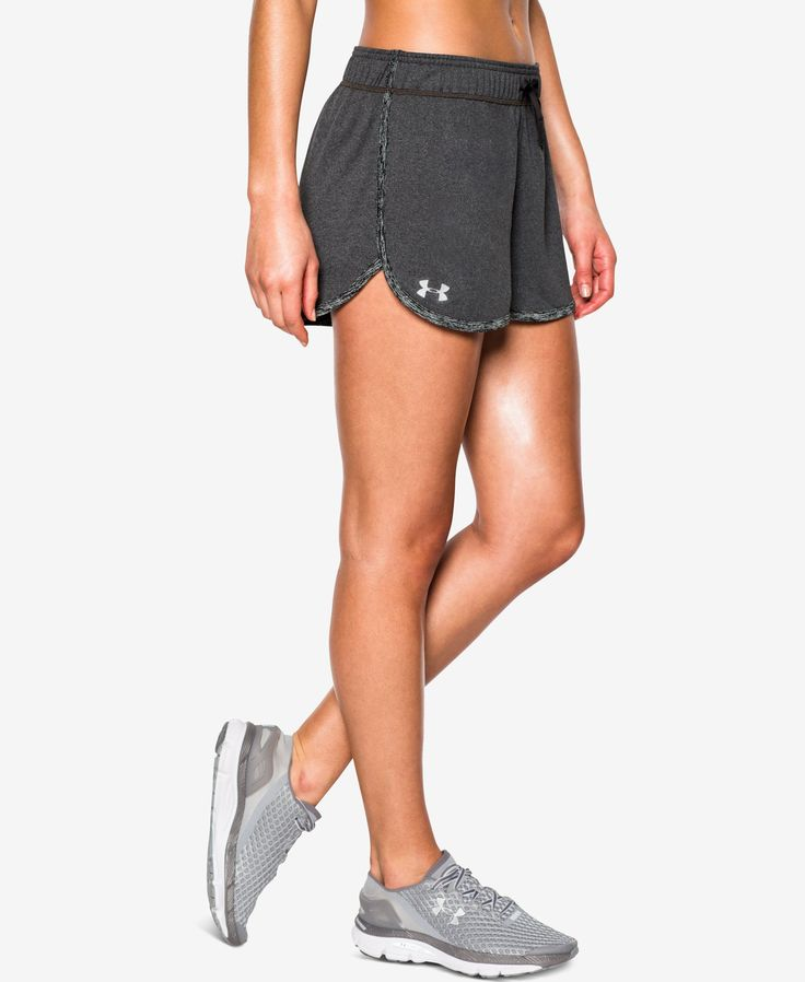 Your favorite athletic shorts just got better with the ultra-light Ua Tech fabric and moisture-wicking brethability of this Under Armour design.   Polyester   Machine washable   Imported   Mid rise  