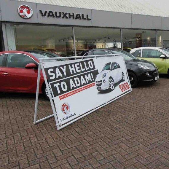 PVC Banner Frame - Vauxhall