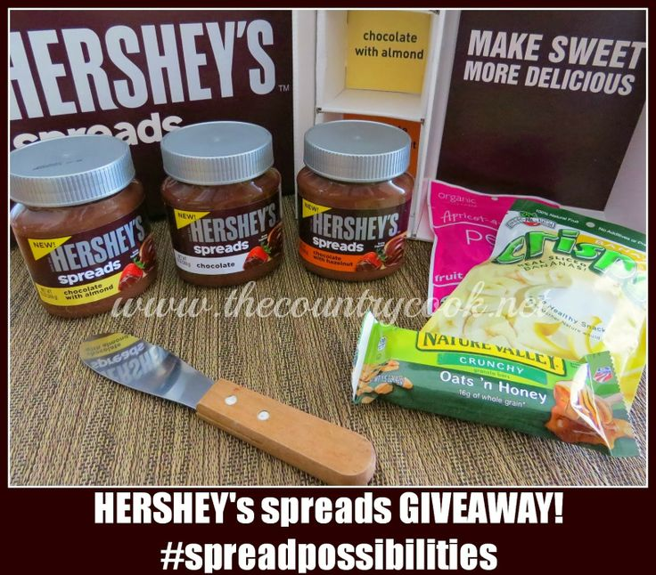 Hershey's Spreads Giveaway! #giveaway #spreadpossibilities
