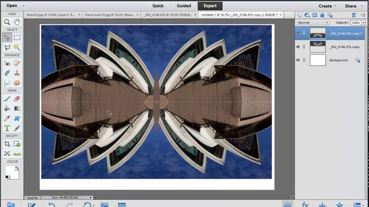 Photoshop Elements: Layer Transformations