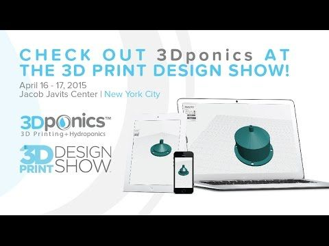 Charlie, our Comms Director, presenting 3Dponics at Meckler Media's Inside 3D Printing. #3Dprinting #pitch #3DPConf