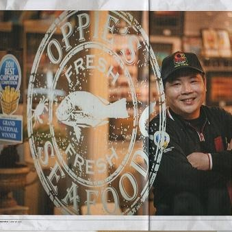 Oppie's Fish and Chips Shop for Rotorua Dining, fresh seafood, chinese menu, takeaways and deliveries to hotels, motels and the central Rotorua city.