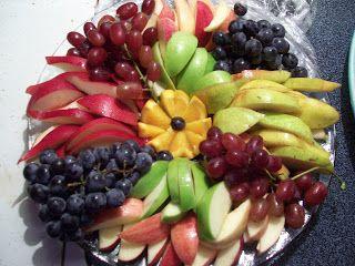 Winter Fruit Platter  Burning Moonlight: Let's start with FOOD!