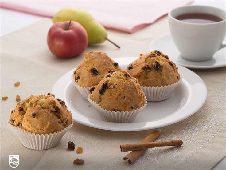 Ik heb net Luchtige muffins gemaakt met mijn Philips #Airfryer