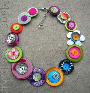 Bijuterias com botões