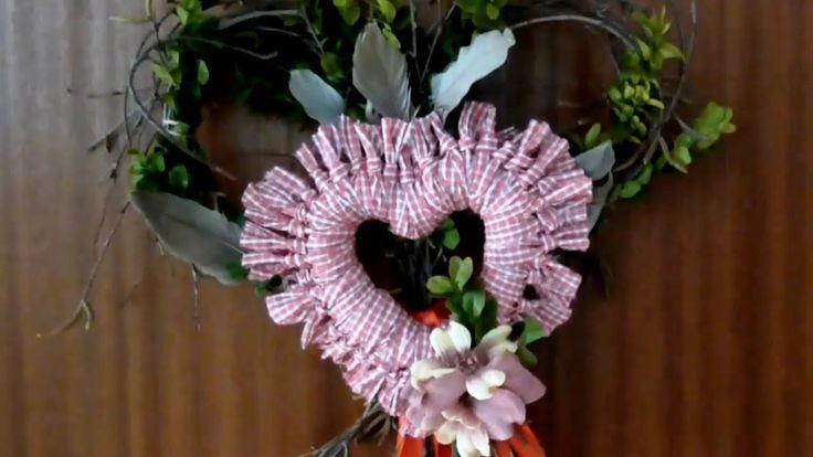 Jana Melas Pullmannová: Valentínske srdiečko na dvere