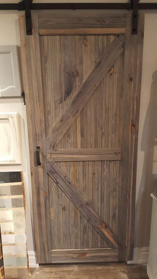 Barn Board Door Sliders Available from Hunters Wood Works in Schomberg. Installation also available