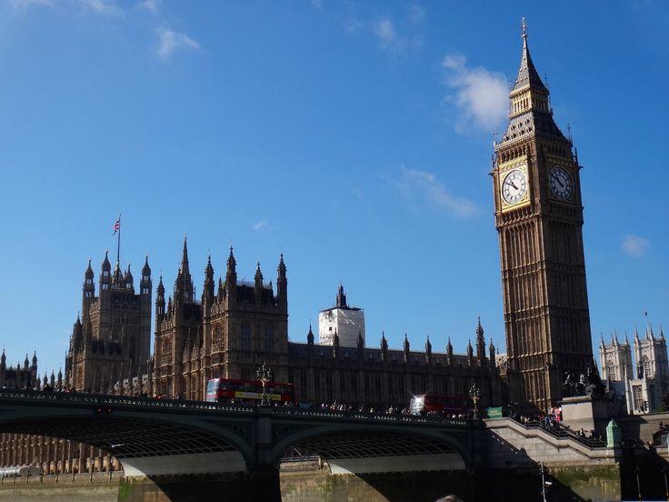 big ben e parlamento londres inglaterra