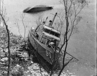 HMAS Attack driven ashore by Cyclone Tracey (Bruce Howard photographs for Herald and Weekly Times) I served in the Royal Australian Navy from 1965 - 1974. My first time in Darwin was being one of the crew that brought HMAS Attack (Patrol Boat) to Darwin