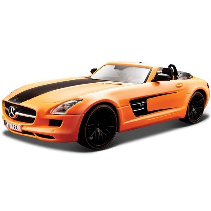 Maisto 1:24 Mercedes-Benz SLS AMG Roadster Model Araba