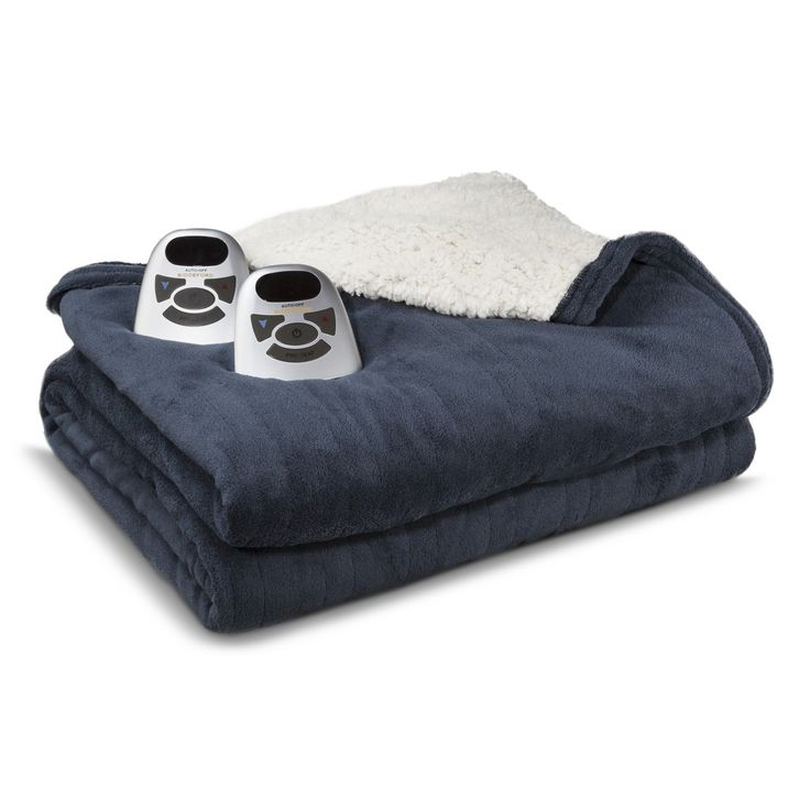 Biddeford Electric Blanket - Indigo (Twin)
