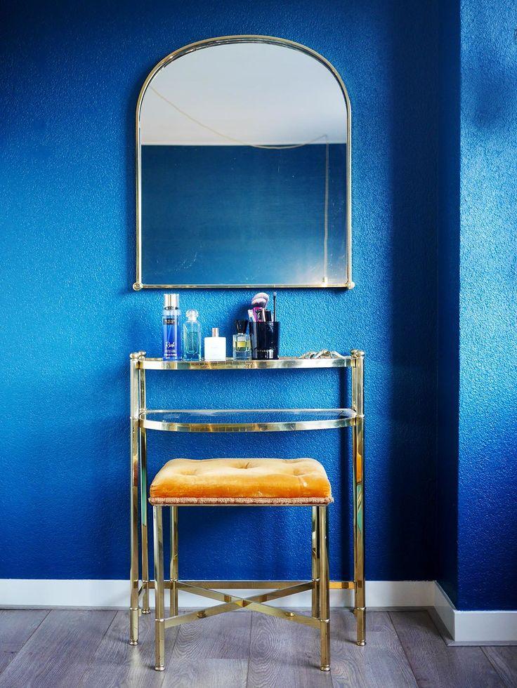 25 beste ideen over Blauwe slaapkamer muren op Pinterest