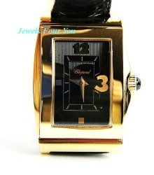Chopard Watch Happy Heart 18k Solid Gold 127461 Swiss Made New Box $14,420.00