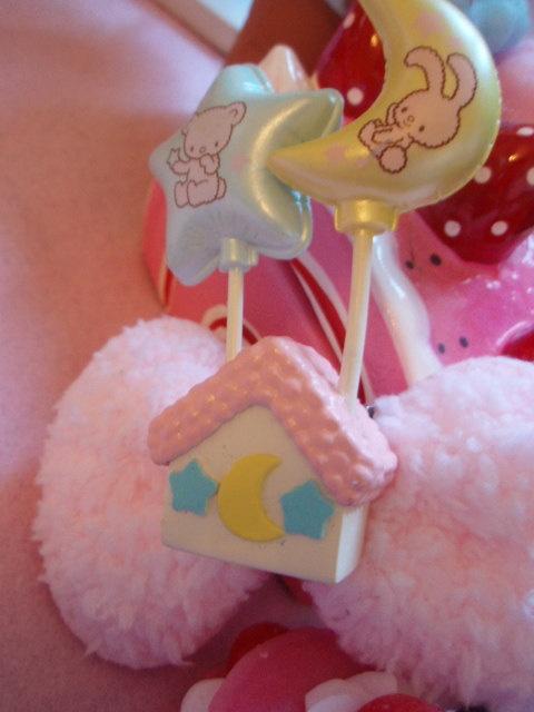 Baby Pink Decora Fairy Kei Fluffy Bow Pastel Balloon by zefora, $13.50