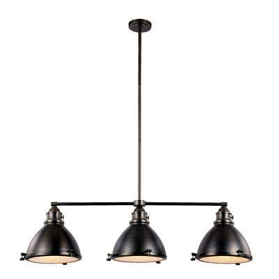 Transglobe Lighting Vintage 3 Light Kitchen Island Pendant Reviews Wayfair Basement