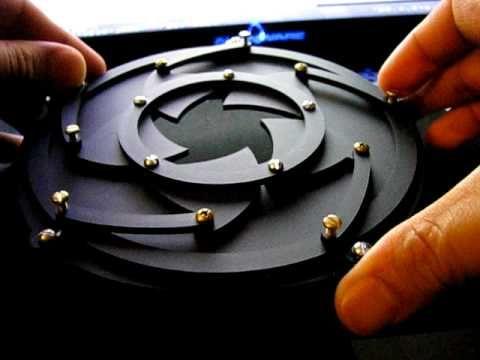 Mechanical Iris Will Make You Want a Laser Cutter Even More | Hackaday