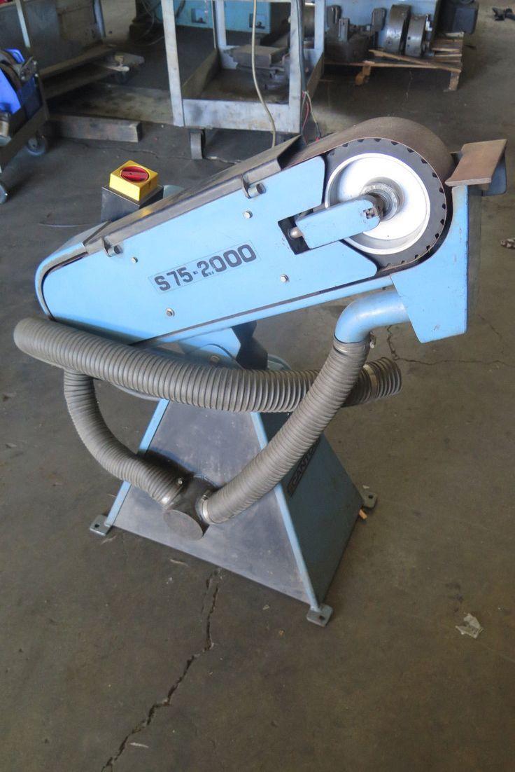 Scantool 75-2000 Belt Grinder w/ dust extractor