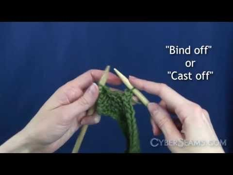 "a vid on youtube called ""How To Knit - The Basics""  super easy to follow along step-by-step"
