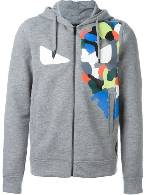 FENDI Bag Bugs Zip Hoodie. #fendi #cloth #hoodie