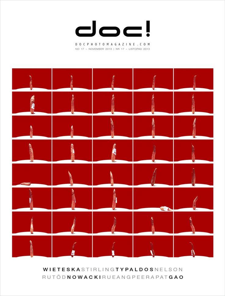 Cover of doc! photo magazine #17  Cover photo: Wojtek Wieteska