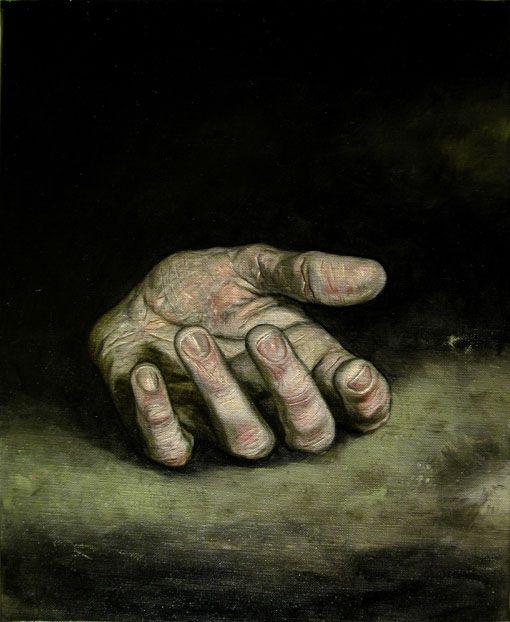 David Dalla Venezia - olio su tela, cm 87x22, 2008