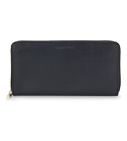 WHISTLES Large Smooth Leather Wallet. #whistles #purses and pouches