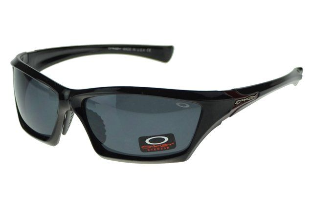 Wholesale Fashion Oakley Asian Fit Sunglasses Black Frame Gray Lens#Oakley Sunglasses